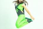 Марина Загдаева танцует
