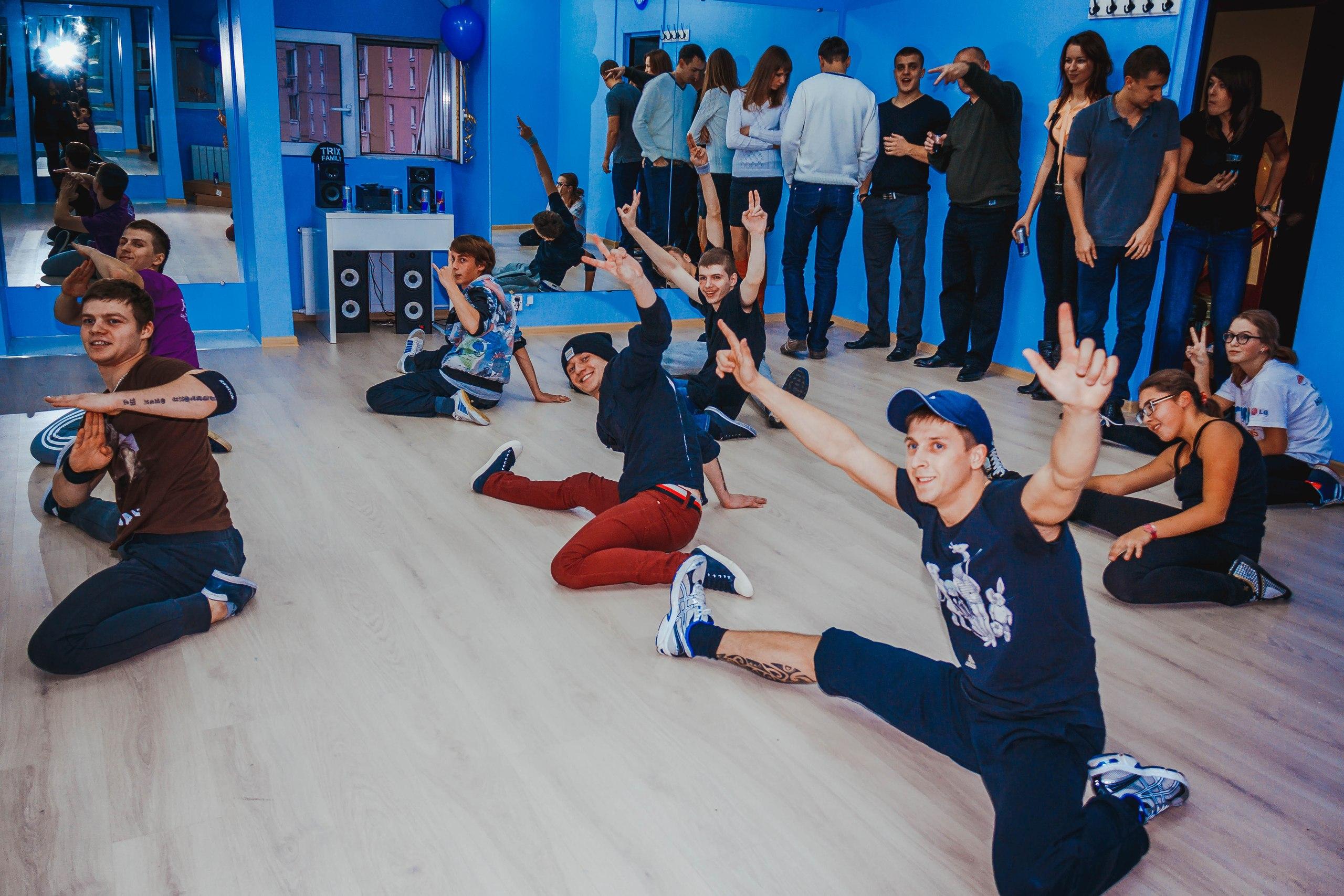 B-Boys тренировка Trix Family
