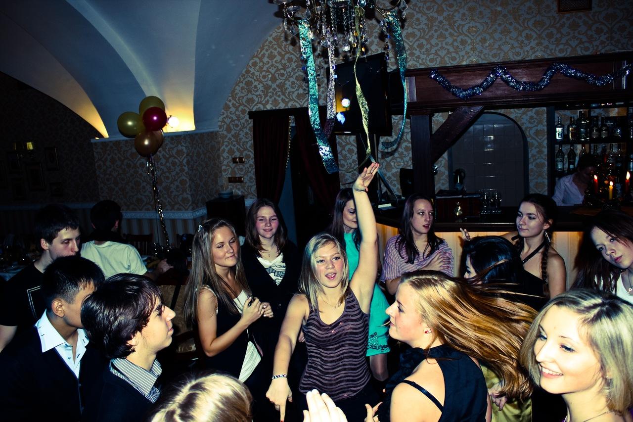 новый год школы танцев