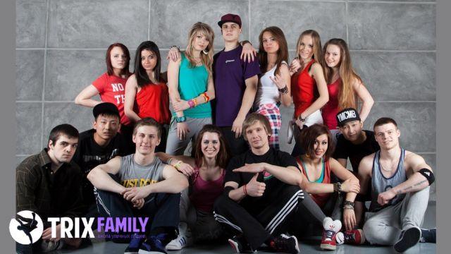 Школа танцев Trix Family