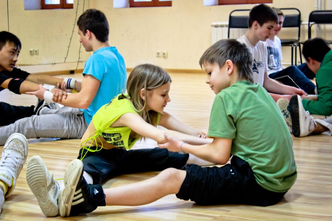 брейк-данс обучение для детей